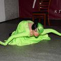 """Танец """"Платье-фантом"""" от RockinlaRock на конкурсе ¡Diferentes! в клубе """"Высоцкий"""". 19 июня 2016 г."""